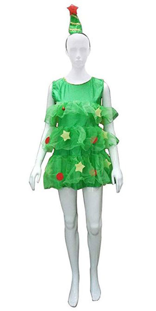 10-Christmas-Tree-Costumes-Outfits-For-Kids-Adults-2018-7