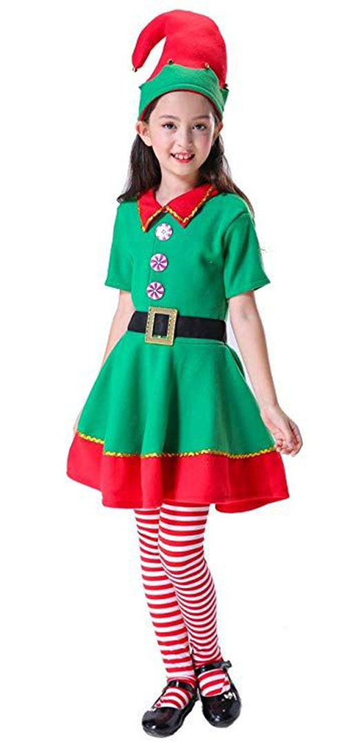 15+ Christmas Elf Costumes & Outfits For Babies, Kids, Men & Women ...
