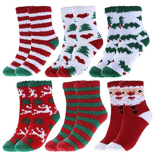15-Christmas-Fuzzy-Socks-For-Kids-Girls-Women-2018-11