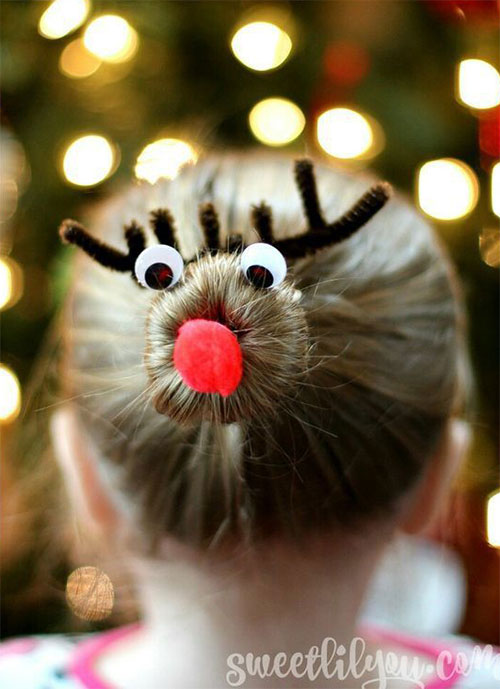 15-Christmas-Themed-Hairstyle-Ideas-For-Short-Long-Hair-2018-1