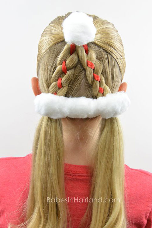 15-Christmas-Themed-Hairstyle-Ideas-For-Short-Long-Hair-2018-13