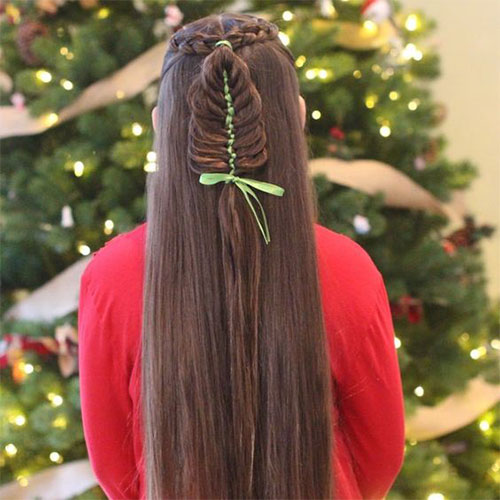 15-Christmas-Themed-Hairstyle-Ideas-For-Short-Long-Hair-2018-18