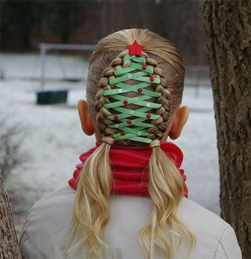 15-Christmas-Themed-Hairstyle-Ideas-For-Short-Long-Hair-2018-2