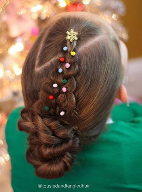 15-Christmas-Themed-Hairstyle-Ideas-For-Short-Long-Hair-2018-3