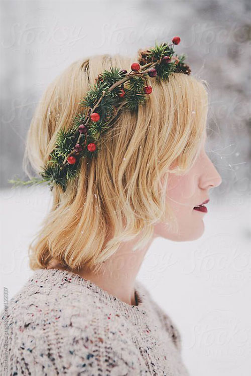 15-Christmas-Themed-Hairstyle-Ideas-For-Short-Long-Hair-2018-8