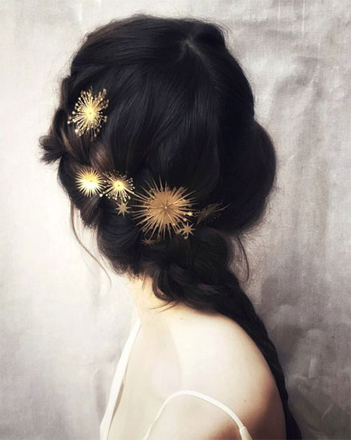 15-Christmas-Themed-Hairstyle-Ideas-For-Short-Long-Hair-2018-9