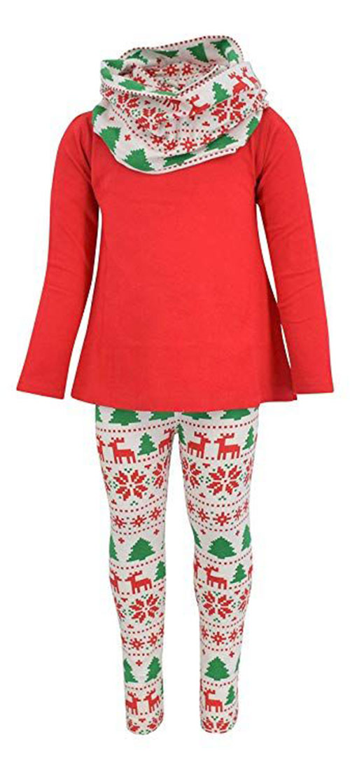 15+ Cute Christmas Outfits For Babies, Kids & Girls 2018 | Modern ...