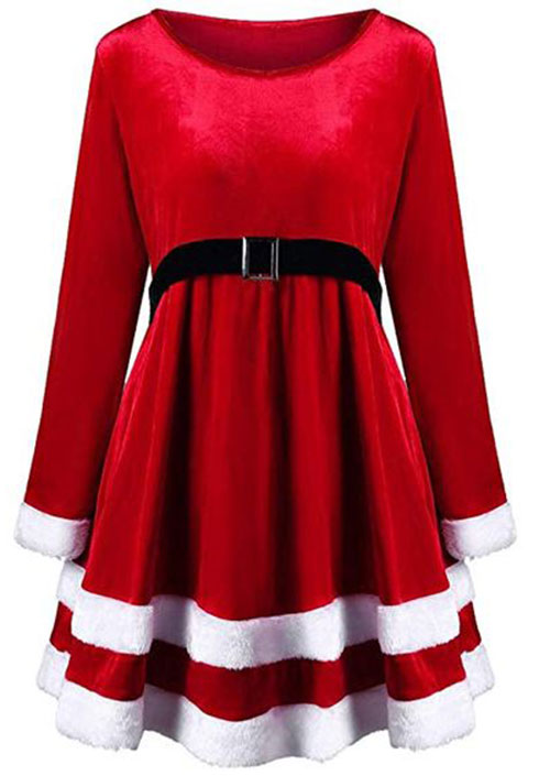 20-Christmas-Costumes-Outfits-For-Girls-Women-2018-9