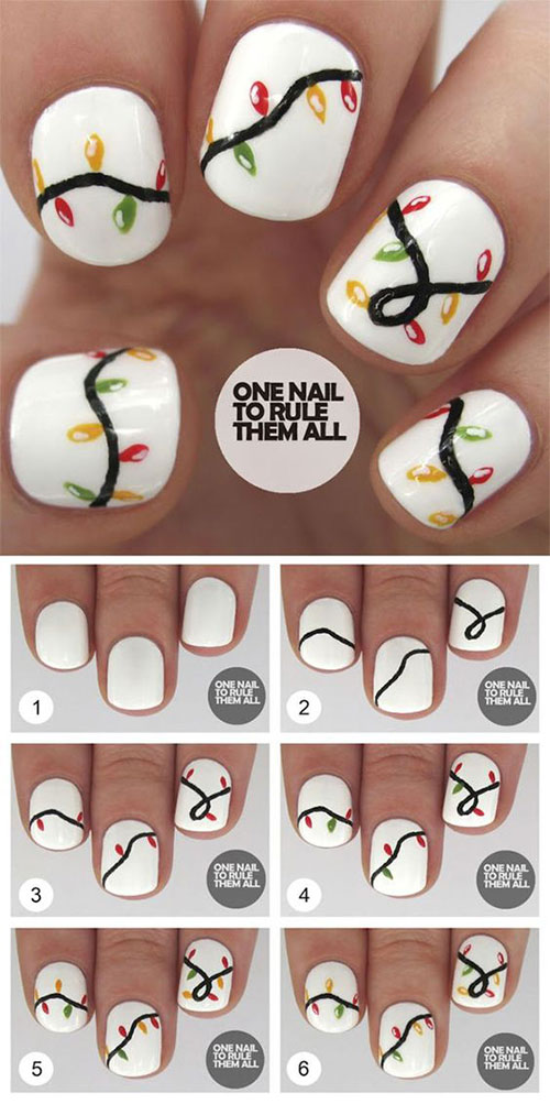 Christmas-Nails-Tutorials-For-Beginners-2018-4