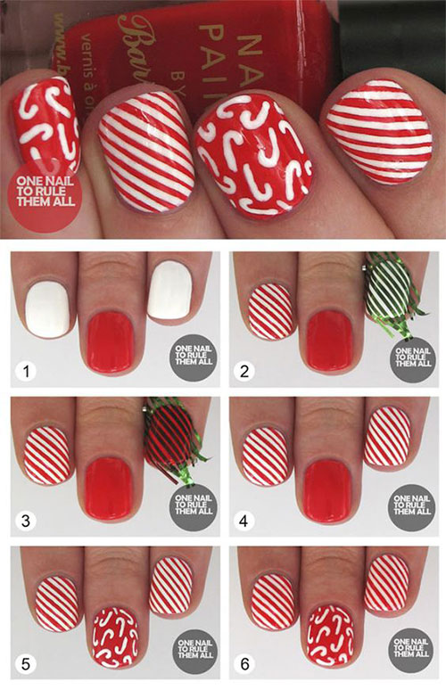 Christmas-Nails-Tutorials-For-Beginners-2018-5