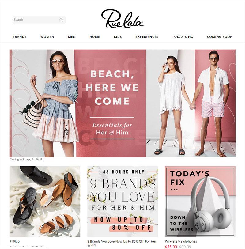 ruelala boutique