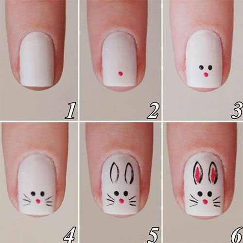 10-Step-By-Step-Easter-Nail-Art-Tutorials-For-Learners-2019-1