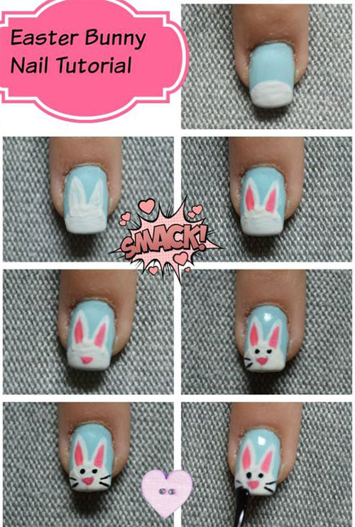 10-Step-By-Step-Easter-Nail-Art-Tutorials-For-Learners-2019-10