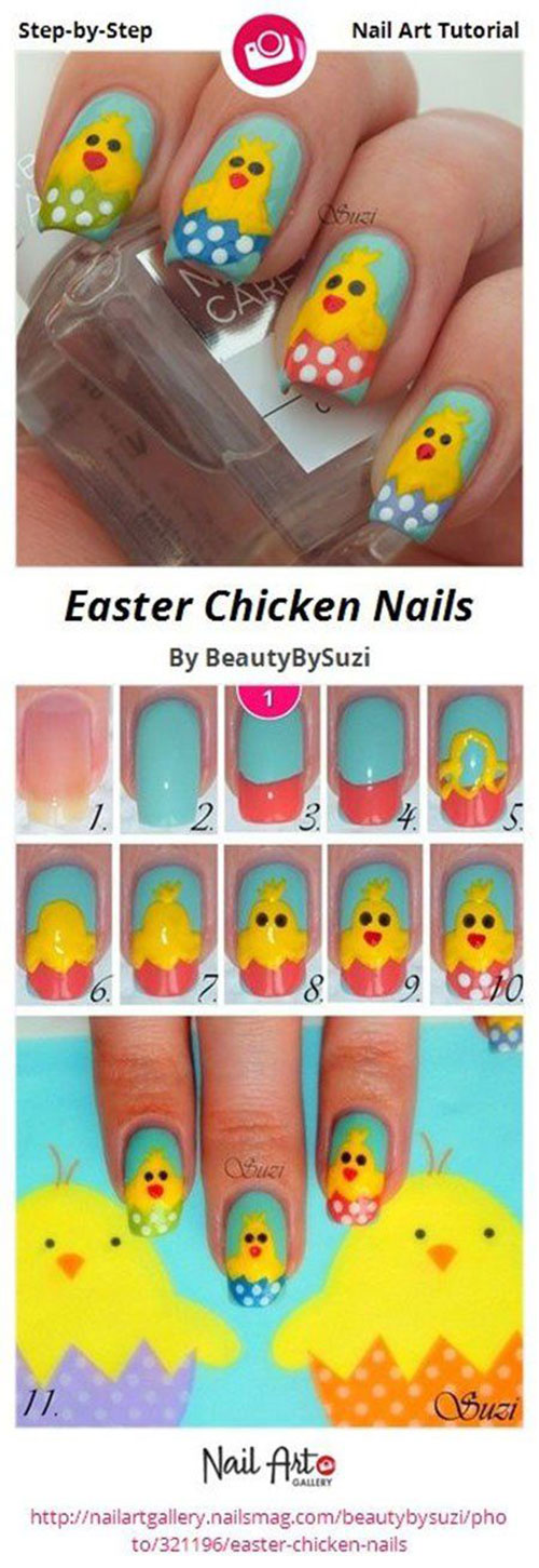 10-Step-By-Step-Easter-Nail-Art-Tutorials-For-Learners-2019-12