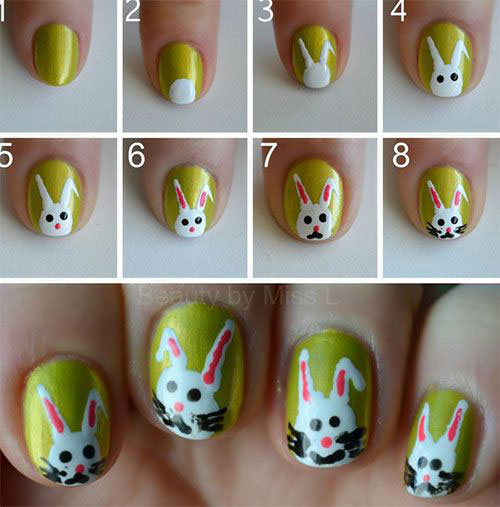 10-Step-By-Step-Easter-Nail-Art-Tutorials-For-Learners-2019-2