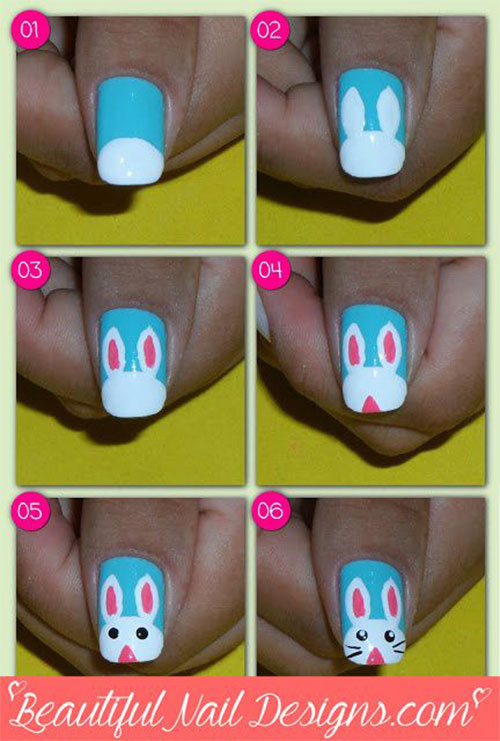 10-Step-By-Step-Easter-Nail-Art-Tutorials-For-Learners-2019-4
