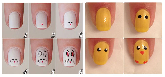 10-Step-By-Step-Easter-Nail-Art-Tutorials-For-Learners-2019-F