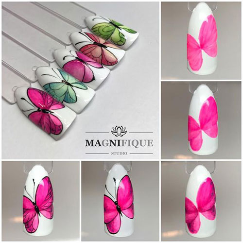 12-Step-By-Step-Summer-Nail-Art-Tutorials-For-Learners-2019-5