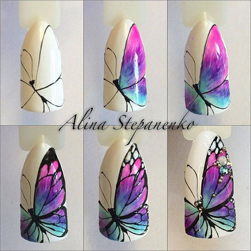 15-Step-By-Step-Spring-Floral-Nail-Art-Tutorials-For-Learners-2019-1