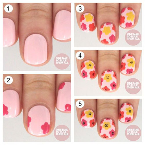 15-Step-By-Step-Spring-Floral-Nail-Art-Tutorials-For-Learners-2019-11