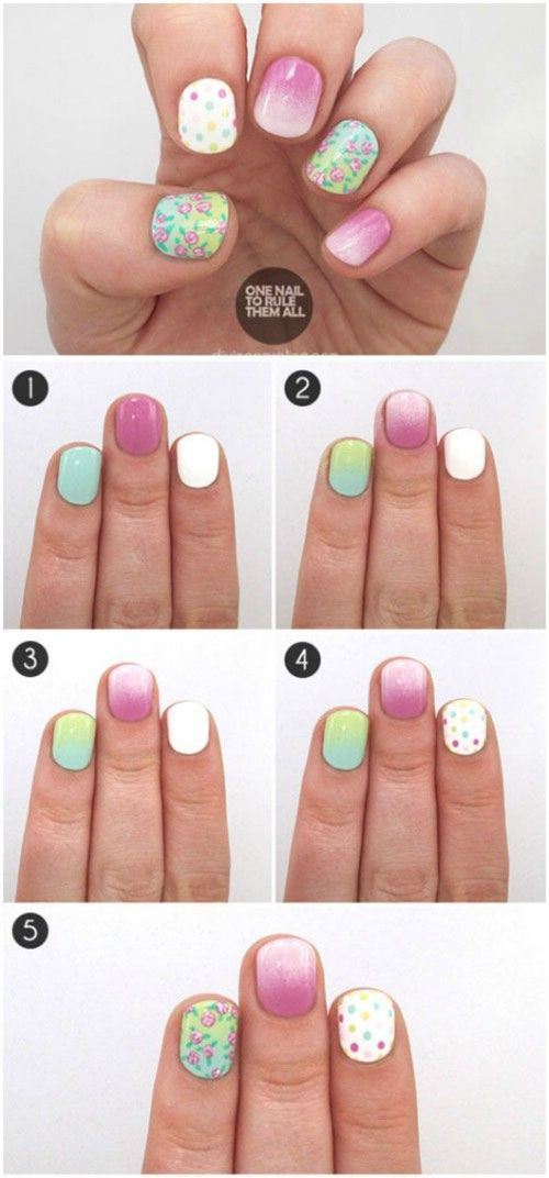 15-Step-By-Step-Spring-Floral-Nail-Art-Tutorials-For-Learners-2019-12
