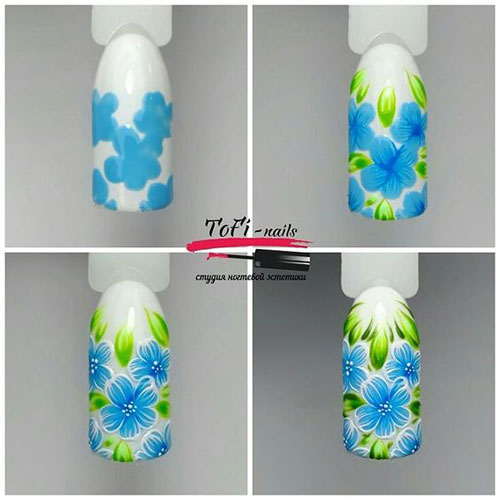 15-Step-By-Step-Spring-Floral-Nail-Art-Tutorials-For-Learners-2019-3