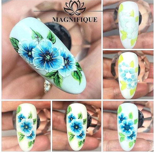 15-Step-By-Step-Spring-Floral-Nail-Art-Tutorials-For-Learners-2019-4