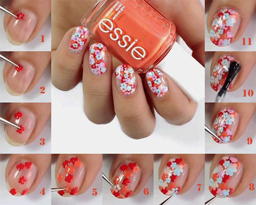 15-Step-By-Step-Spring-Floral-Nail-Art-Tutorials-For-Learners-2019-5