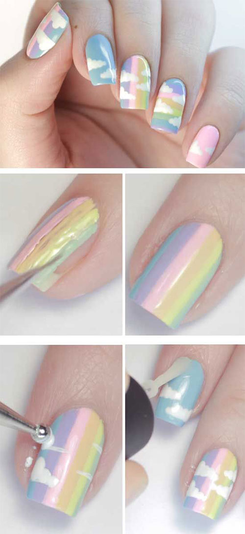15-Step-By-Step-Spring-Floral-Nail-Art-Tutorials-For-Learners-2019-8