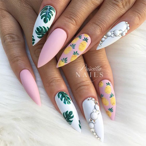 20-Best-Summer-Nails-Art-Designs-Ideas-2019-11