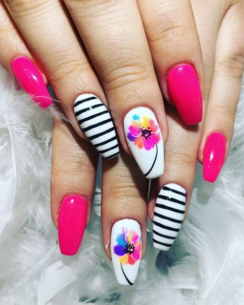 20-Floral-Nail-Art-Designs-Ideas-2019-Spring-Nails-12