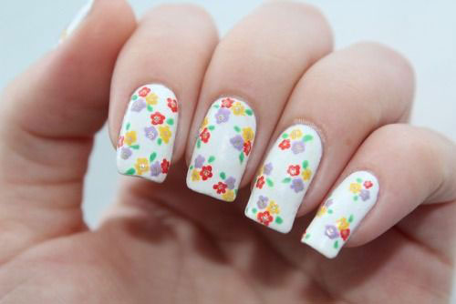 20-Floral-Nail-Art-Designs-Ideas-2019-Spring-Nails-13