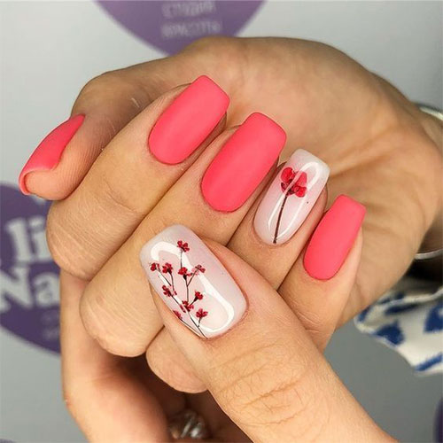 20-Floral-Nail-Art-Designs-Ideas-2019-Spring-Nails-14