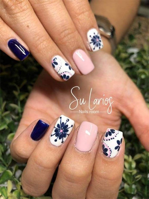 20-Floral-Nail-Art-Designs-Ideas-2019-Spring-Nails-17