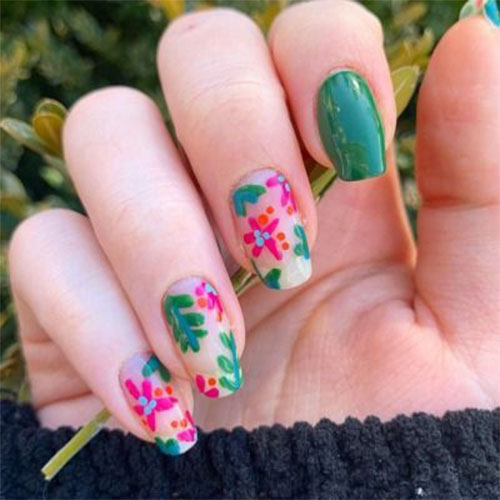 20-Floral-Nail-Art-Designs-Ideas-2019-Spring-Nails-2