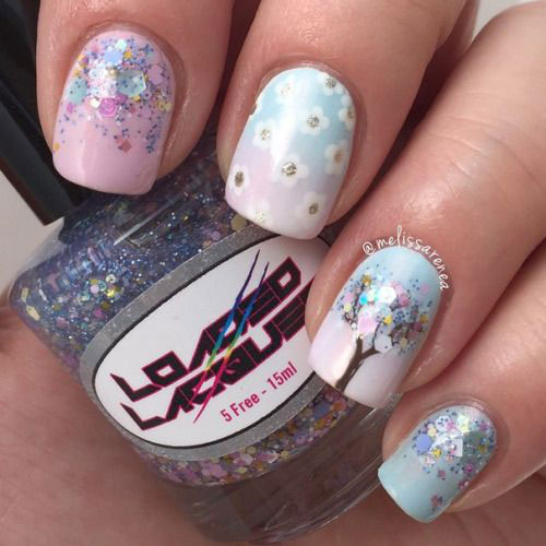 20-Floral-Nail-Art-Designs-Ideas-2019-Spring-Nails-3