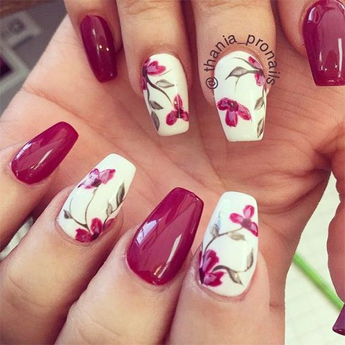 20-Floral-Nail-Art-Designs-Ideas-2019-Spring-Nails-5