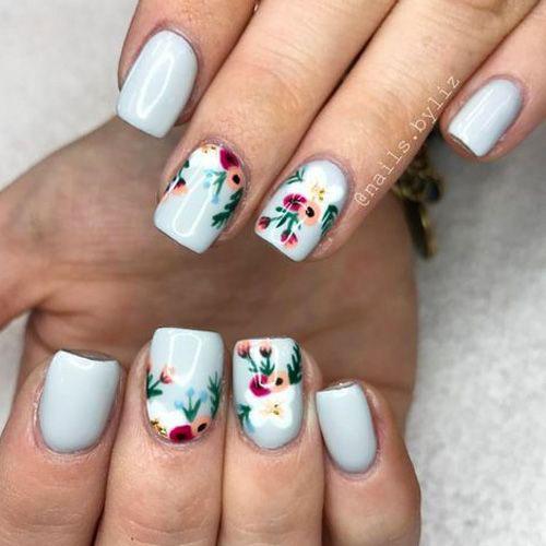 20-Floral-Nail-Art-Designs-Ideas-2019-Spring-Nails-6