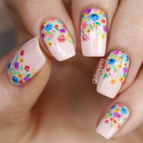 20-Floral-Nail-Art-Designs-Ideas-2019-Spring-Nails-7