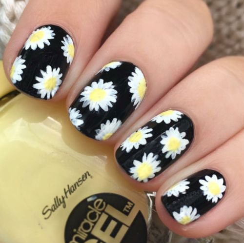 20-Floral-Nail-Art-Designs-Ideas-2019-Spring-Nails-8