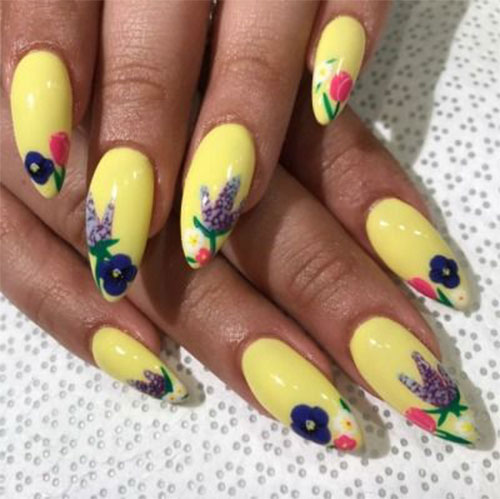 20-Floral-Nail-Art-Designs-Ideas-2019-Spring-Nails-9