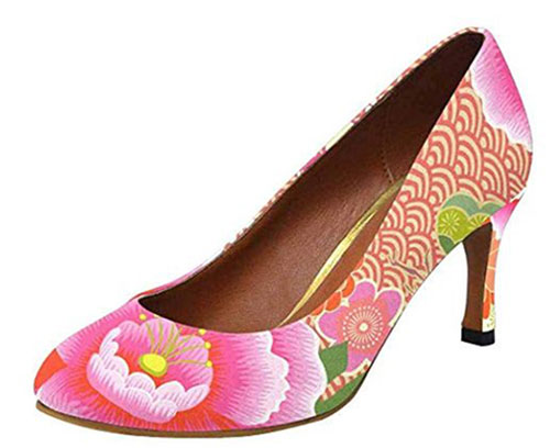 Floral-Heels-For-Girls-Women-2019-Spring-Fashion-5