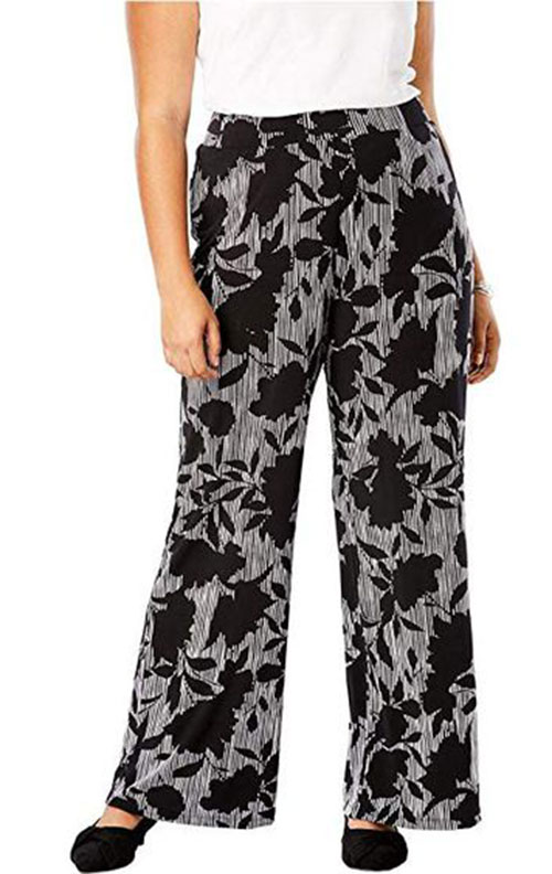 Floral-Print-Pants-For-Girls-Women-2019-Spring-Fashion-1