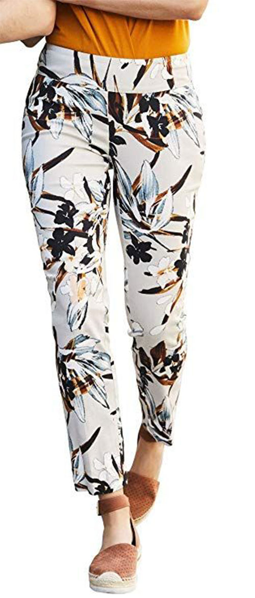 Floral-Print-Pants-For-Girls-Women-2019-Spring-Fashion-10