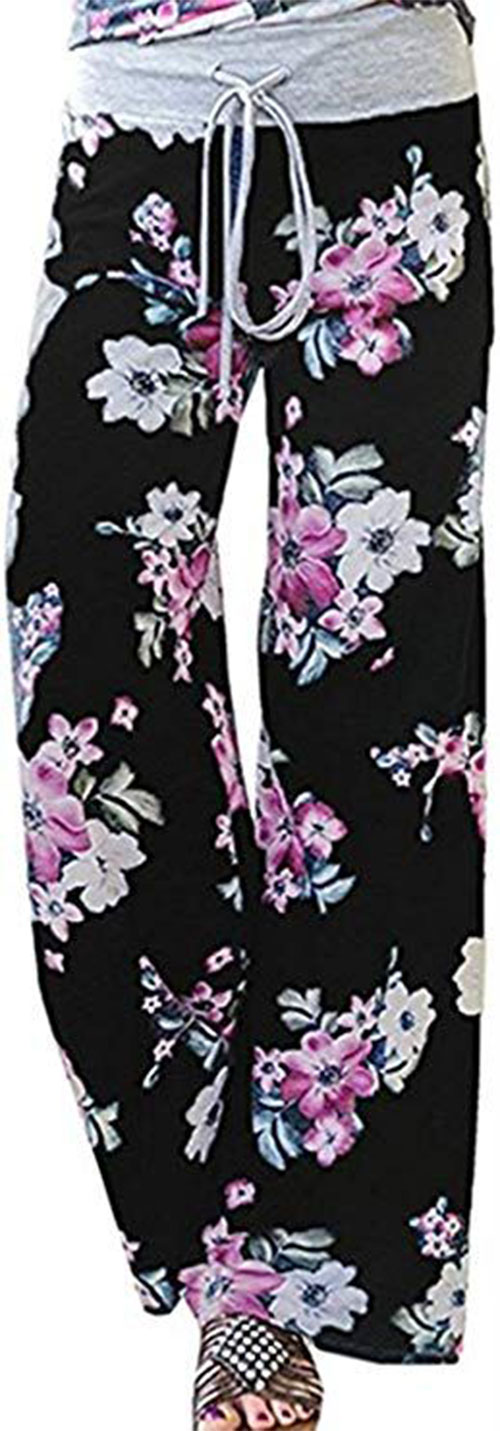 Floral-Print-Pants-For-Girls-Women-2019-Spring-Fashion-8