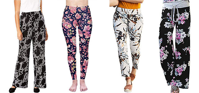 Floral-Print-Pants-For-Girls-Women-2019-Spring-Fashion-F
