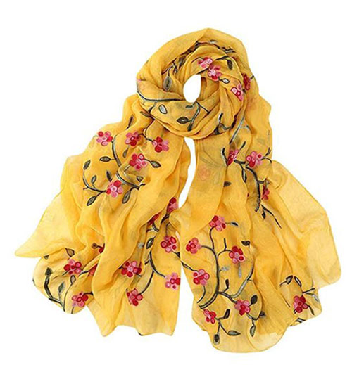 Floral-Scarf-Designs-Fashion-For-Kids-Girls-2019-5
