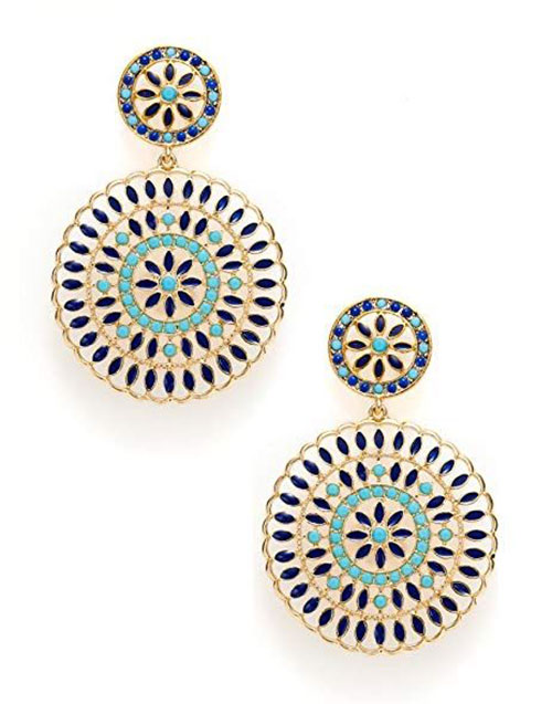 Spring-Floral-Earring-Studs-For-Girls-Women-2019-3