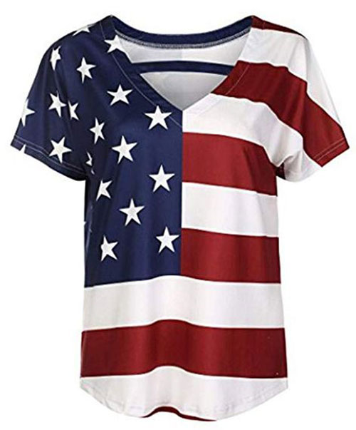 Best-4th-of-July-T-Shirts-For-Women-2019-Patriotic-Outfits-10