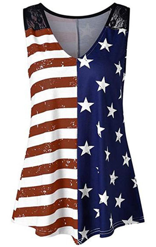 Best-4th-of-July-T-Shirts-For-Women-2019-Patriotic-Outfits-11